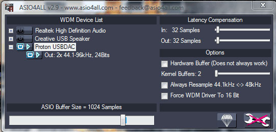 Wavelength Audio, USB DACS, Setup information for Windows